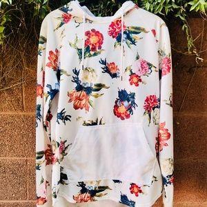On The Byas floral hoodie